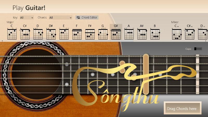 Khóa học đàn guitar quận Gò Vấp của Khuyến Nhạc Sông Thu