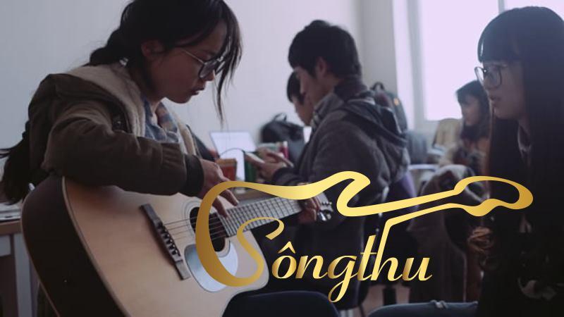 Hình ảnh lớp học guitar quận 11 của Khuyến Nhạc Sông Thu